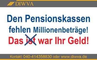 Millionen Fehlbeträge in den Pensionskassen gefährden die Altersversorgung
